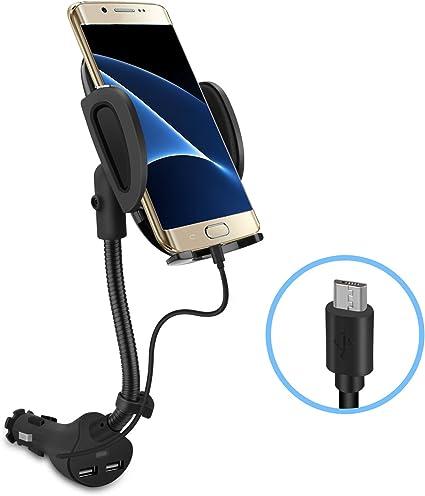 Amazon.com: Te-Rich - Soporte de coche para teléfono móvil ...