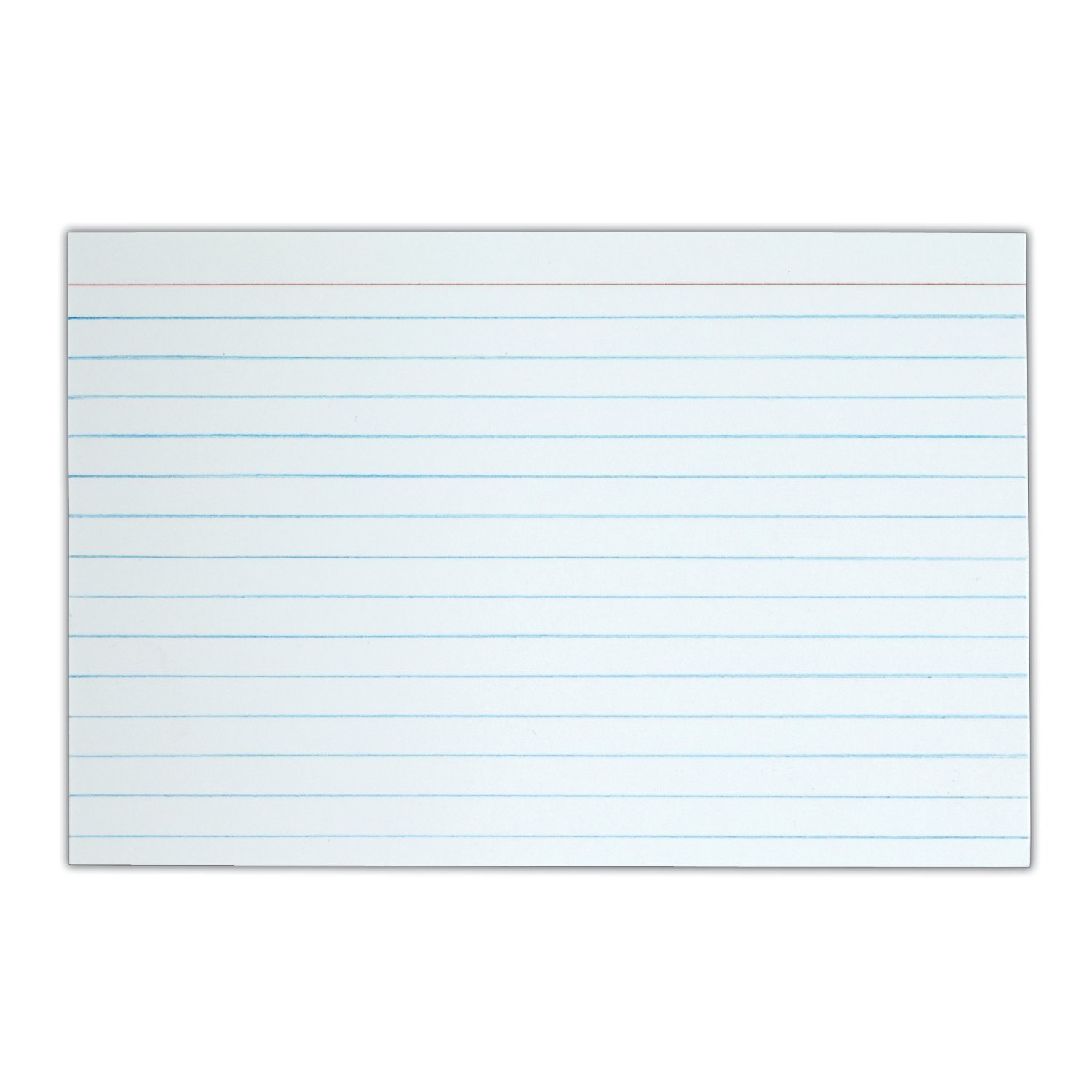 Amazon.com : TOPS Index Cards, 4 x 6-Inches, White, 90 Lb, Narrow ...