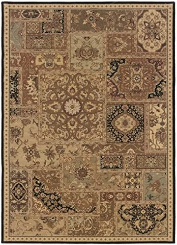 Oriental Weavers Nadira 7 10 x 11 Machine Woven Rug in Beige