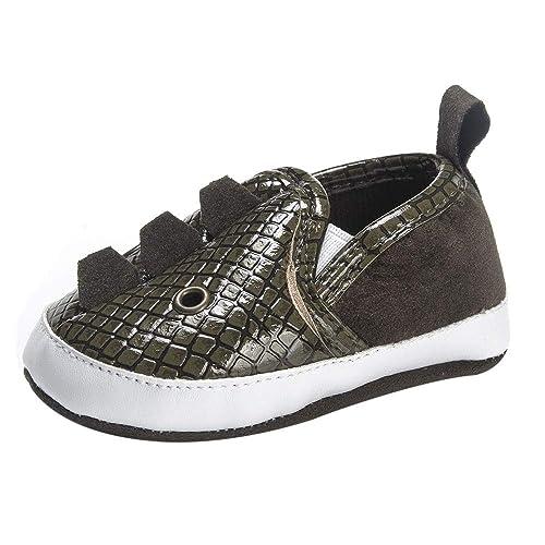 K-youth Zapatos Primeros Pasos Niño Zapatillas para Infantil Recién Nacido Niñas Niños Grano de Serpiente Zapatos Bebe Niña con Suela Bautizo Regalo ...