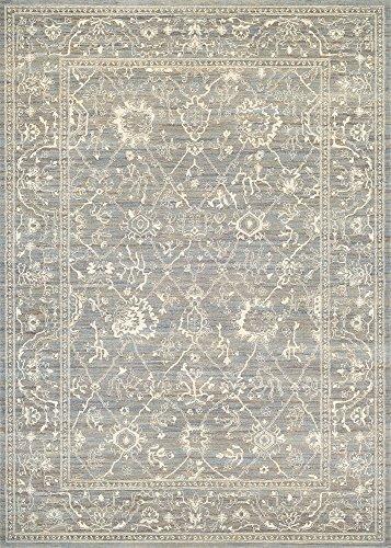 Couristan Everest Persian Arabesque Rug Persian Arabesque/Charcoal/Ivory/9'2