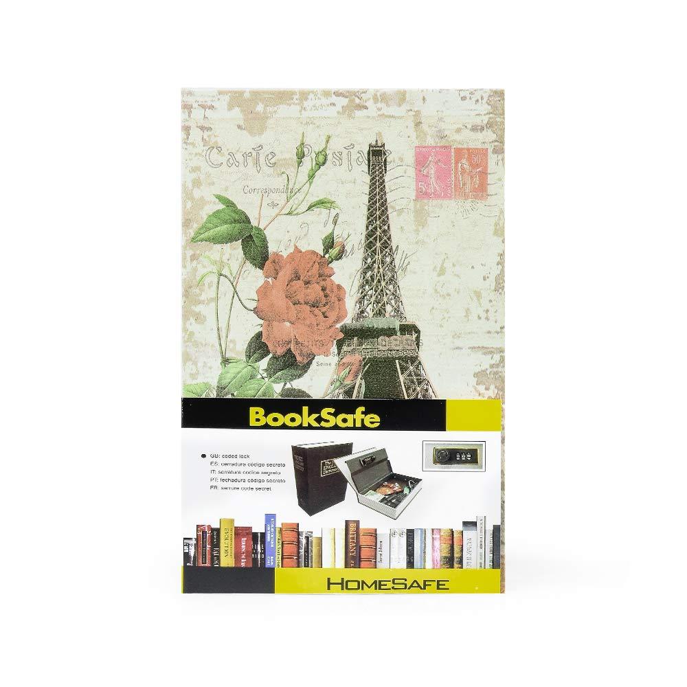 Coffre-Fort Bo/îte de Rangement secr/ète avec Serrure /à Combinaison//Livre de redirection cach/é Multicolore