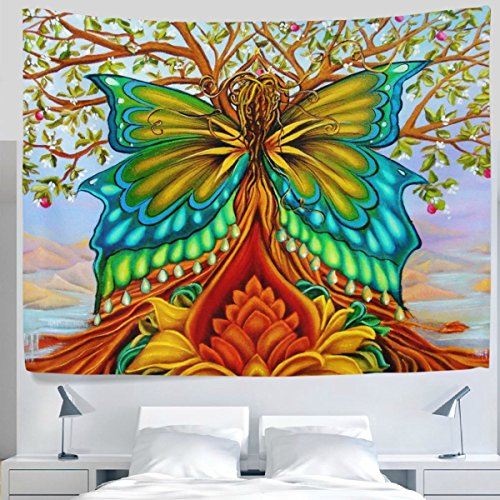 Tree of Life Psychedelic Magical Mysterious Tree Tapestry Wall H