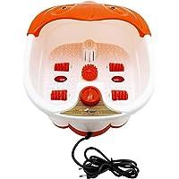 Zifi Foot Bath Spa Pedicure Tub Massager (Orange, White)