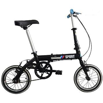 HUALQ Bicicleta Plegable Bike 14 Pulgadas Aluminio aleación niño montaña Bici V Brake Ciclo