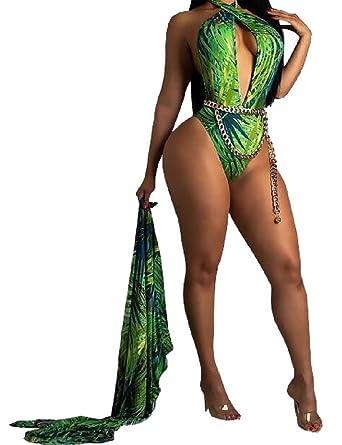 Amazon.com: yieg-mx Womens Verano Bikini trajes de baño ...
