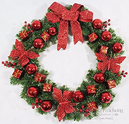 hyp christmas wreathchristmas garland garland for home wall wedding decoration christmas decorations garland