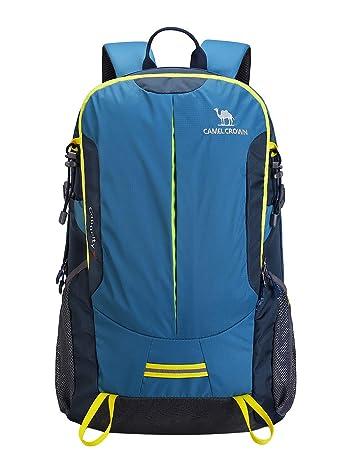 acquisto economico de9ab 6a1eb CAMEL CROWN 30L Zaino da Escursione Durevole Zaino da Trekking Leggero per  Viaggi Sport Alpinismo Arrampicata Campeggio All'aperto