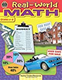TEACHER CREATED RESOURCES REAL WORLD MATH GR 5-8 (Set of 6)