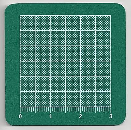 "Miniature 1/"" Scale Green Craft Cutting Mat DOLLHOUSE 1:12 Excellent Detail"