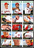 2013 Los Angeles Angels of Anaheim Topps Heritage Baseball Complete Mint 15 Basic Card Team Set