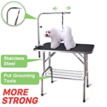 Polar Aurora Pingkay Heavy Duty Pet Professional Foldable Grooming Table