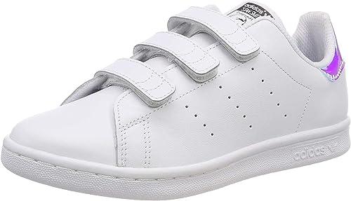 adidas Stan Smith CF C, Zapatillas Unisex niños: Amazon.es: Zapatos y complementos