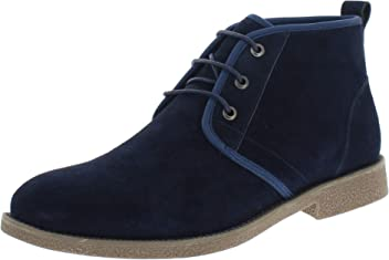 Khombu Mens Chester Insulated Suede Chukka Boots