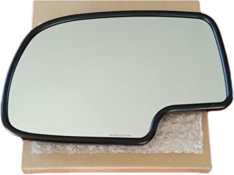 NEW Mirror Glass AND BACKING CHEVY GMC TRUCK SUV Driver Left Side