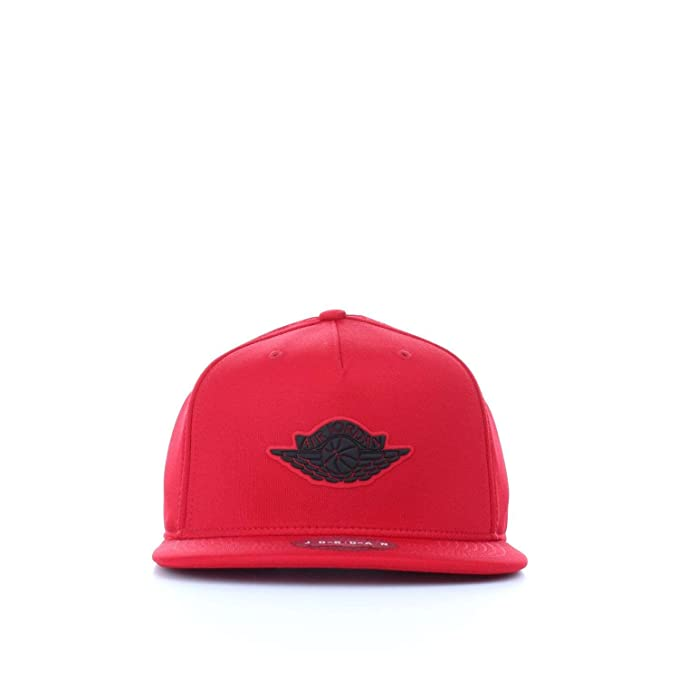 Nike GORRA JORDAN WINGS ROJO NEGRO UNISEX  Amazon.es  Ropa y accesorios e71e51c567e