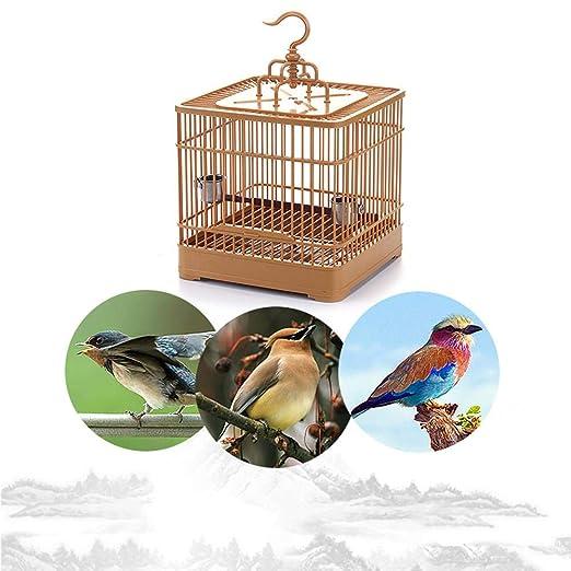 QUUY Jaulas de pájaros Vintage, Jaula de alimentación de Aves ...