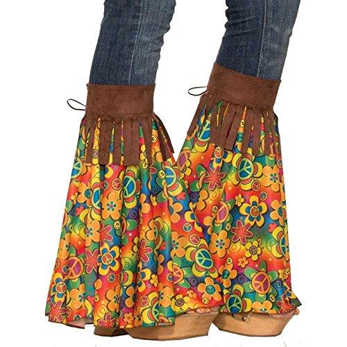 Forum Novelties Women's Hippie Add-a-Bells, multi Standard -