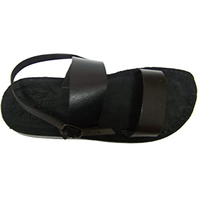 Holy Land Market Genuine Leather Suede Bottom Biblical Sandals (Yashua) Suede II | Sandals