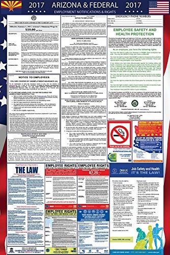 2017 Arizona and Federal Labor Law Poster Laminated