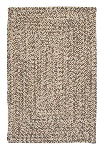 Corsica Rectangle Area Rug, 4 by 6-Feet, Storm Gray