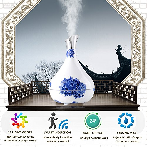 300ml Essential Oil Diffuser Cool Mist Humidifier