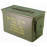Texto original en la caja de municiones usadas