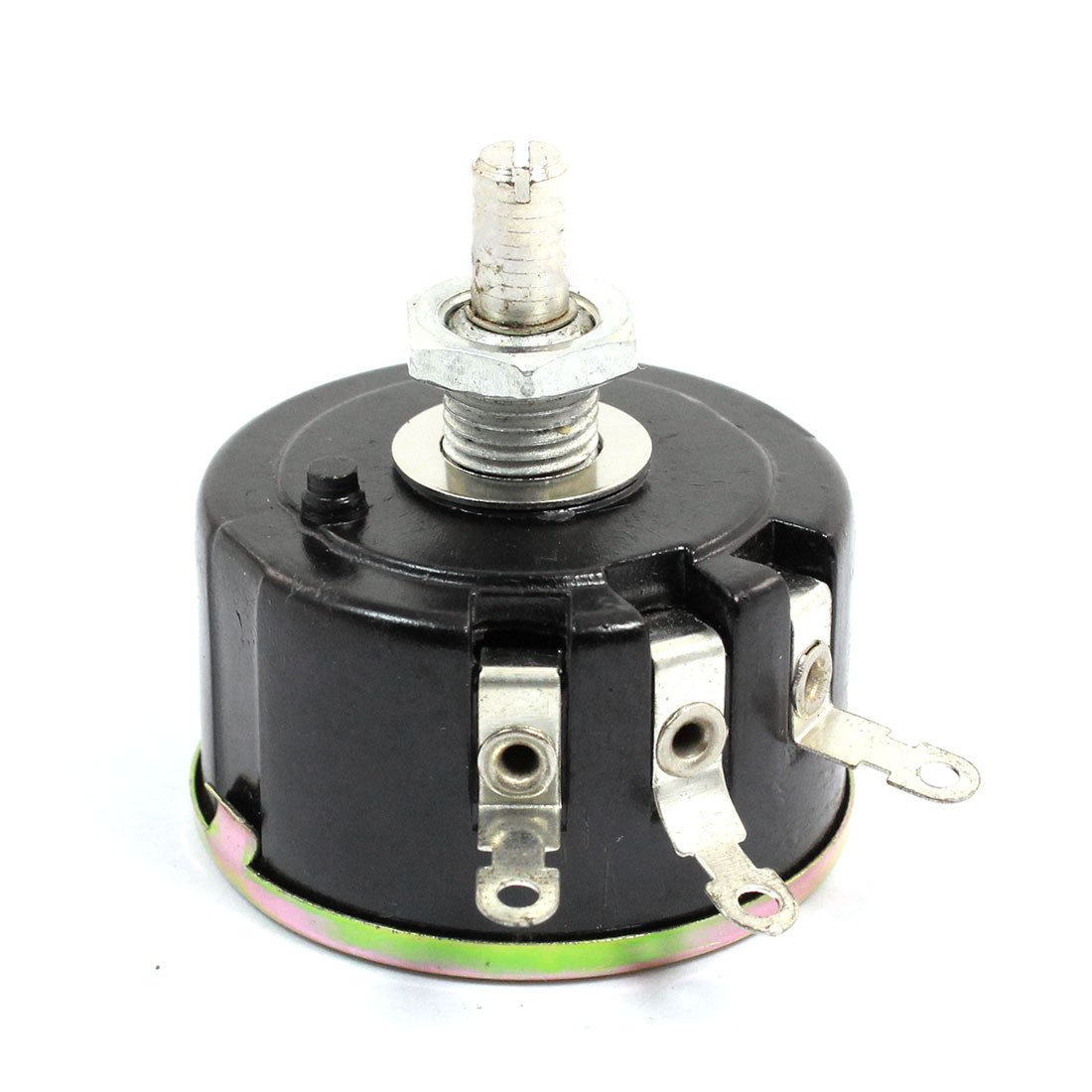 sourcingmap 6mm Arbre Single Tours fil enroulé Potentiomètre Rotatif 47K Ohm 5W 5 watts US-SA-AJD-46358