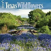 Texas Wildflowers 2016 Square 12x12 Wall Calendar