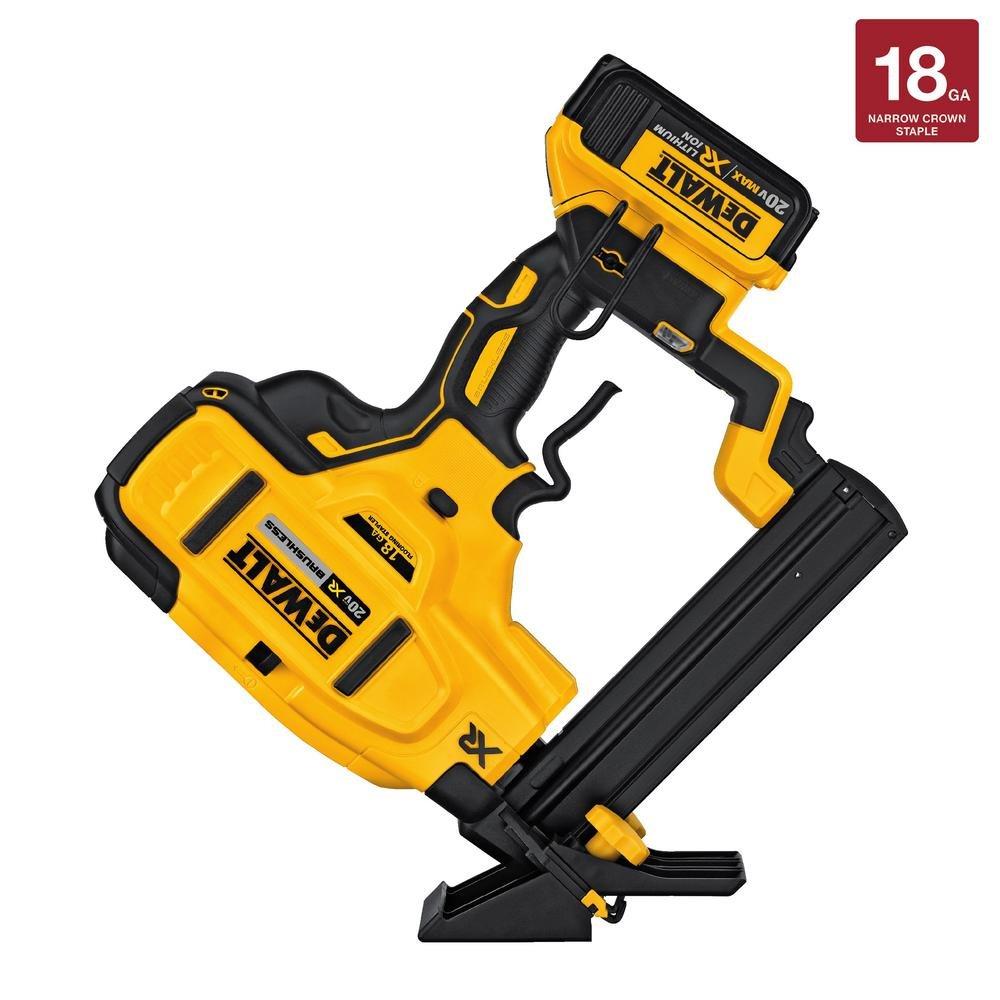 DEWALT DCN682M1 20V 18Ga Floor Stapler Kit by DEWALT