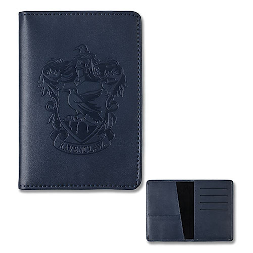 Wizarding World of Harry Potter Ravemclaw Faux Leather Embossed Passport Holder Wallet