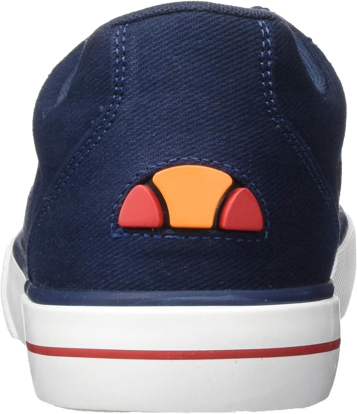 Ellesse Taggia, Baskets Homme Multicolore Dark Blue Red White Dk Blu Red Wht