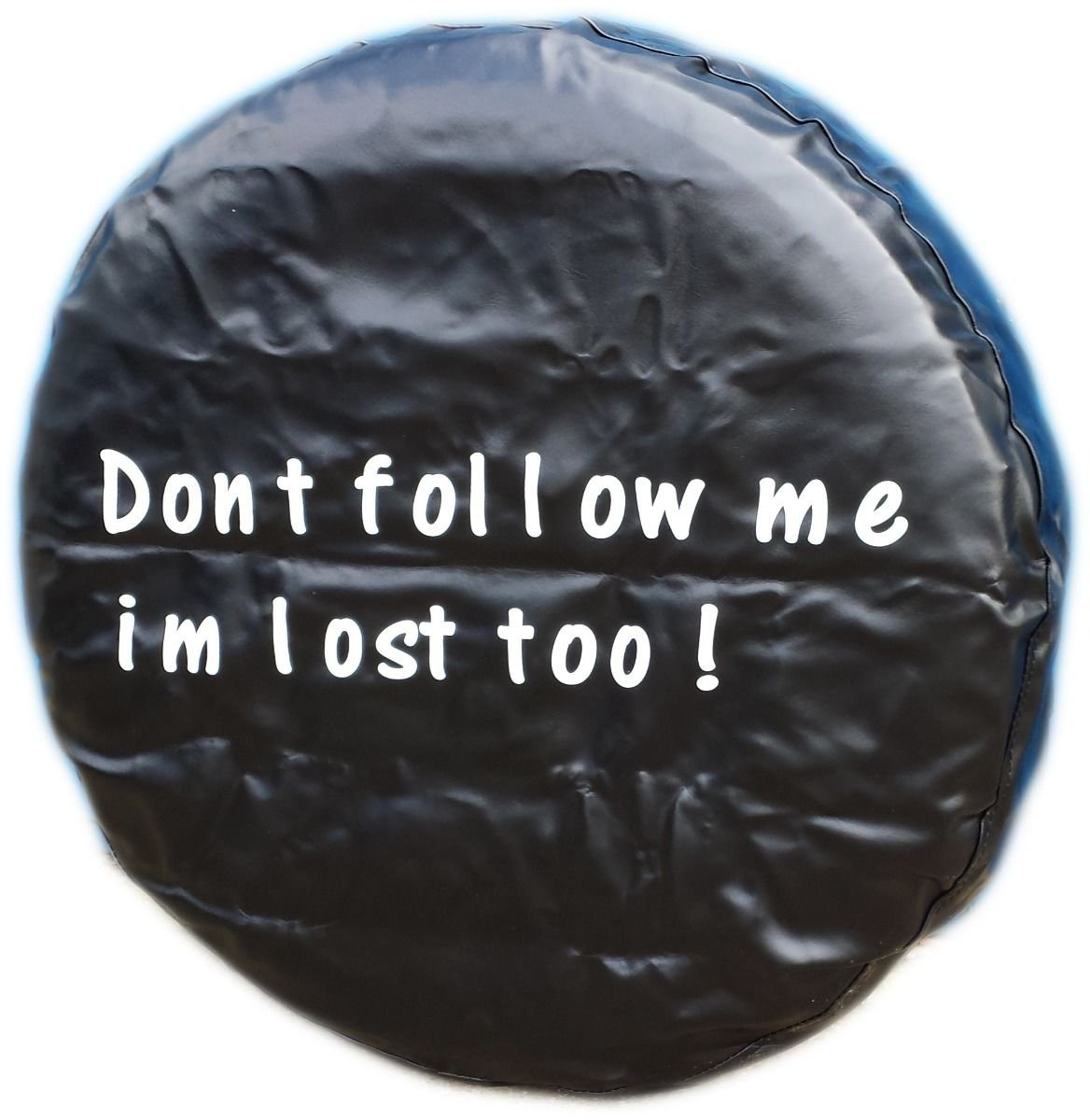 WHEEL COVER WHEELCOVER SPARE TYRE TIRE 4X4 FOR ALL SIZES DONT FOLLOW ME IM LOST TOO! - LET US KNOW YOUR SIZE BargainworldUK