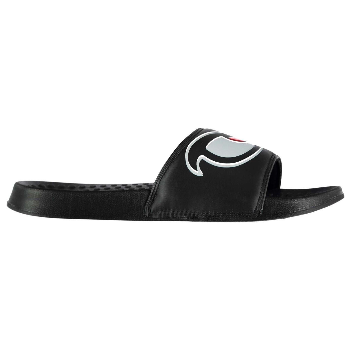 cd6c8c35caacd8 No Fear Mens Forever Sliders Shoes Water Pool Beach Summer Synthetic Upper Black  UK 10 (44)  Amazon.co.uk  Shoes   Bags