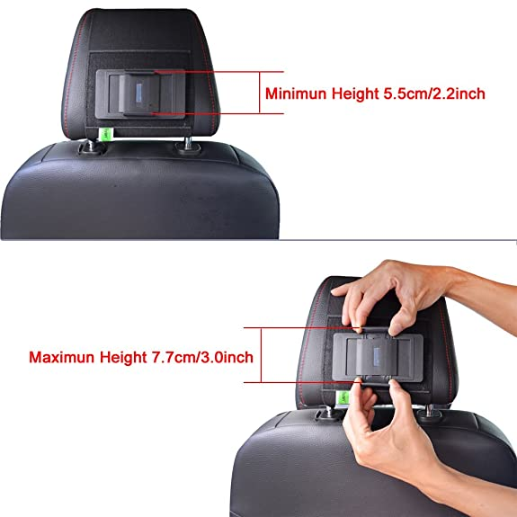Bayan Smart Phone Car Headrest Mount Holder Cradle Specially Designed For 4 57