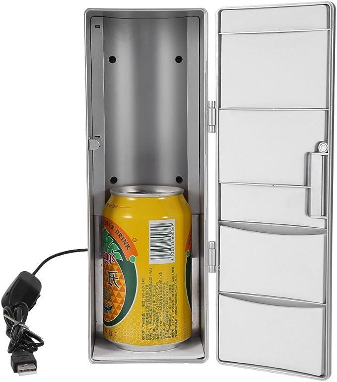 Garosa Portátil Mini USB Refrigerador Bebida Cerveza Bebidas Latas ...