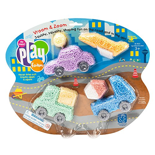 picture of Educational Insights Playfoam Vroom & Zoom Themed Toy Set