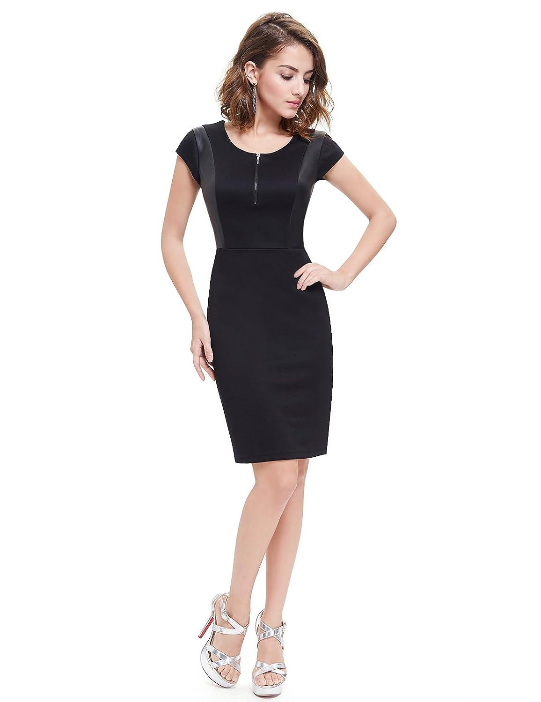 Ever Pretty Damen Rundhals Modisch Casual Hauteng Sommer Kleid 05306:  Amazon.de: Bekleidung
