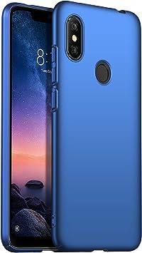 SHIEID Funda Xiaomi Redmi Note 6 Pro, Ultra Slim Anti-Rasguño y ...