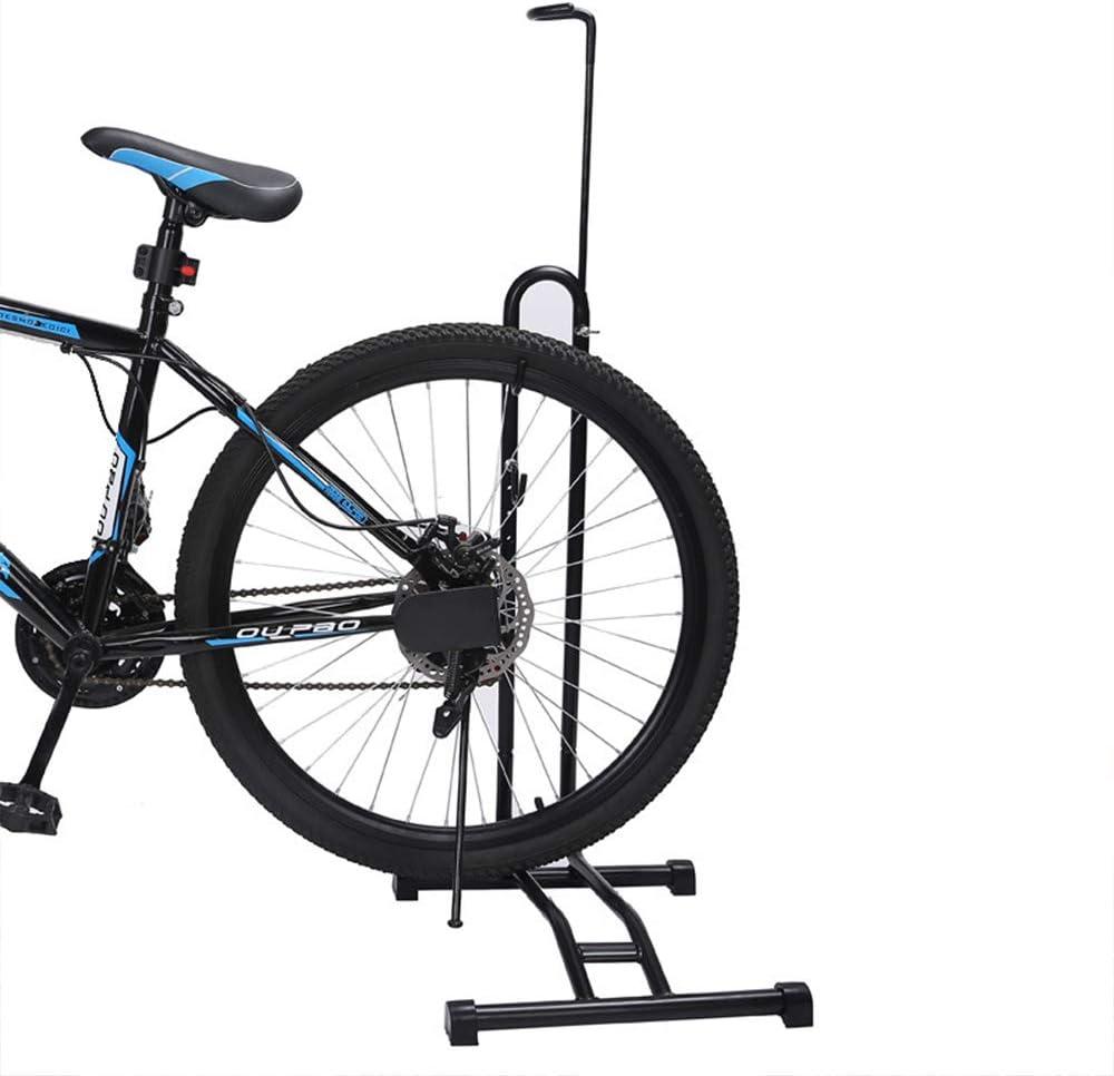 Soporte Vertical para estacionamiento Soporte de reparaci/ón Tipo de Piso Soporte para estacionamiento para Bicicleta de Carretera de monta/ña OTENGD Soporte para Bicicleta 3 en 1