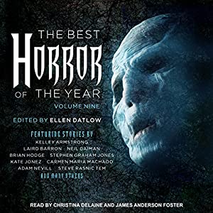 The Best Horror of the Year, Volume Nine Audiobook