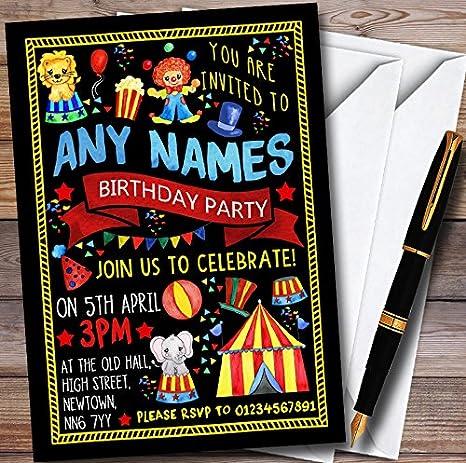 amazon com black kids circus carnival clown personalized childrens