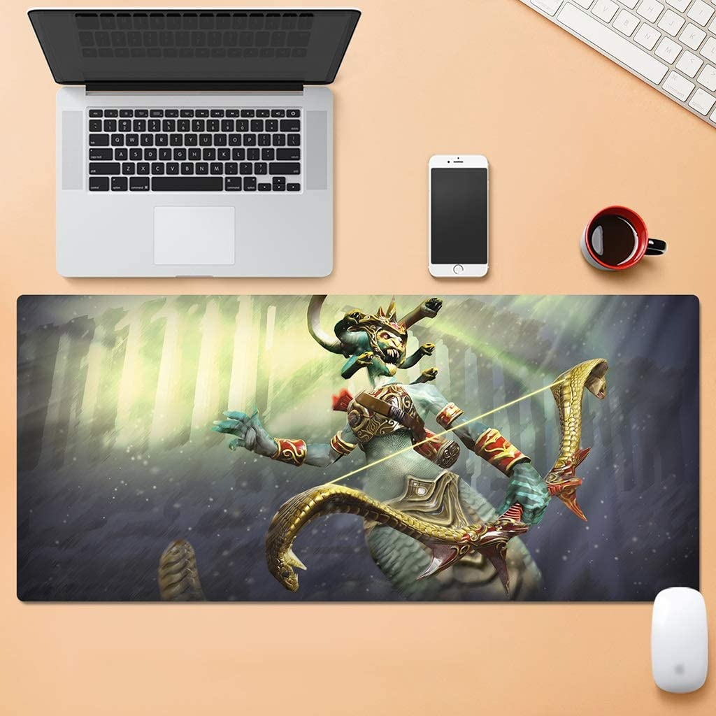 Color : E, Size : 5mm HMMSP Oversized Thickening E-Sports Game Professional Mouse Pad Multi-Function Extended Keyboard Mouse Mat Non-Slip Wear Resistant 80/×30cm 6 Styles