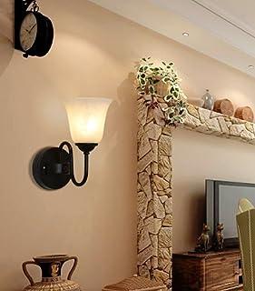 paese americano Nordic minimalista lampada da comodino camera da letto della parete del salone studio lampade in ferro lampada da parete della navata laterale luci