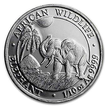 1//4 1//10 Oz 1//2 2017 Somalian Elephant 1 SET OF 4 SILVER COINS Capsules