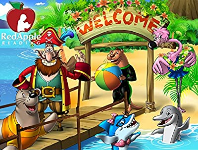 Red Apple Reading - Island Adventures (Level C) Ages 6-9 [Online Code]