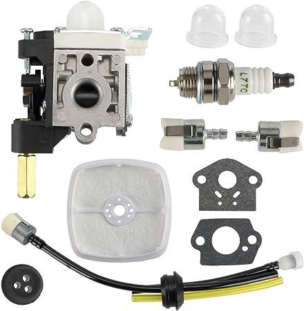 Carburetor Kit Fit Zama RB-K75 ECHO GT200 SRM210 HC150 Grommet Spark Plug New