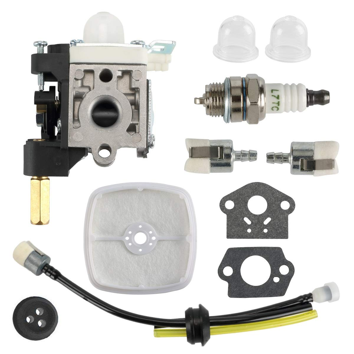 MDAIRC for Zama Carburetor Carb RB-K75 fits GT-200 HC-150 SRM-210, 230 and More by MDAIRC