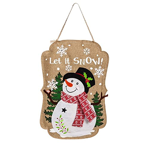 Lighted Burlap Christmas Decorations: Christmas Decorations For Front Door: Amazon.com