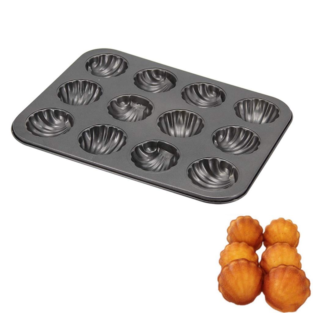 DIY Carbon Steel Madeleine Pans Jelly Molds Mousse Bakeware Madeleines Molds